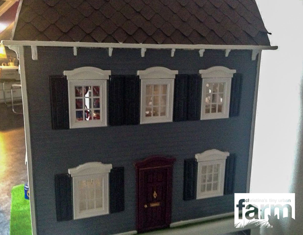 Dollhouse outside