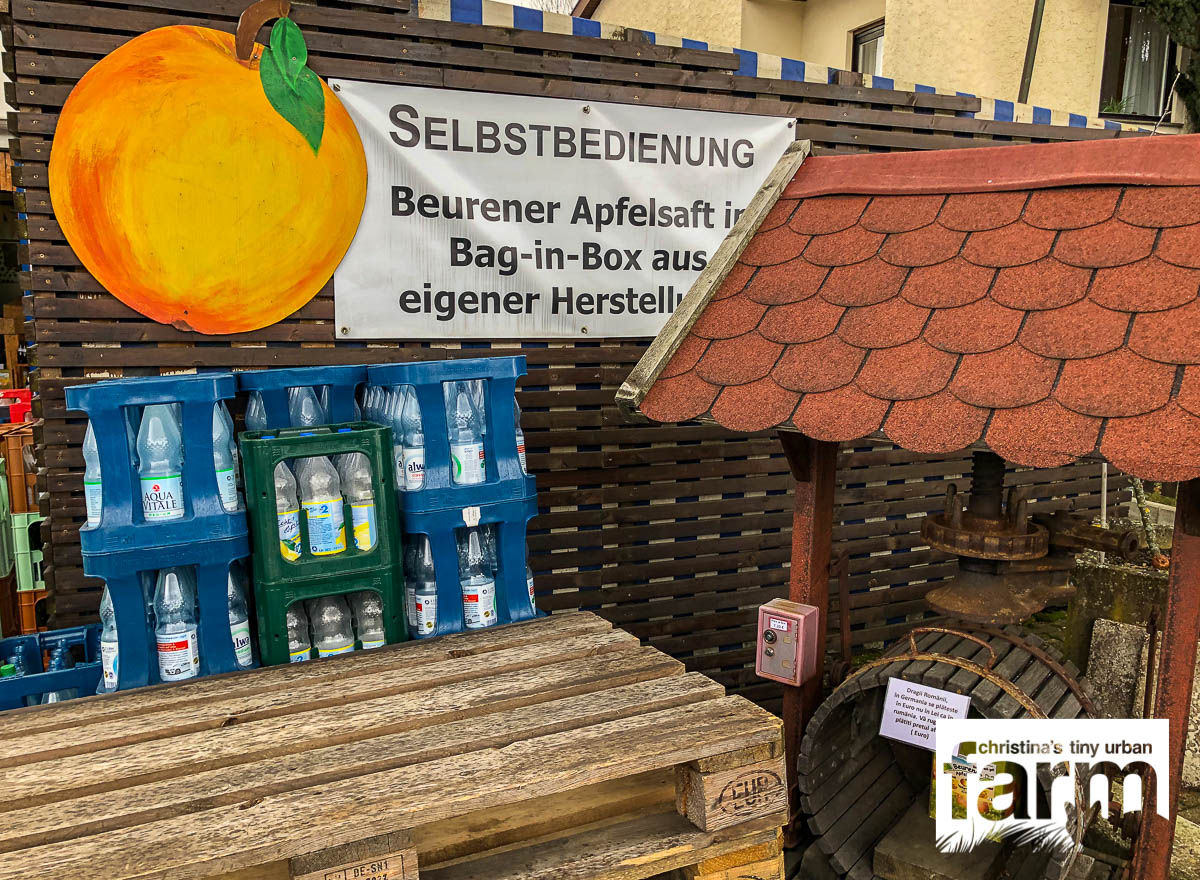 Streuobstapfelsaft in Beuren